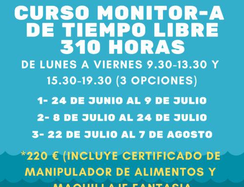 Os Zagales oferta nuevos cursos para obtener el titulo de monitor/a de tiempo libre este verano