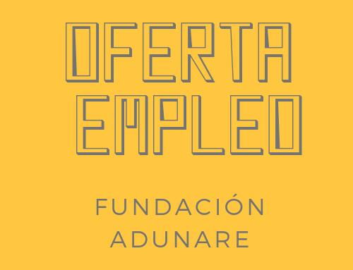 Oferta de empleo: Oficial 1ª jardinería · Fundación Adunare