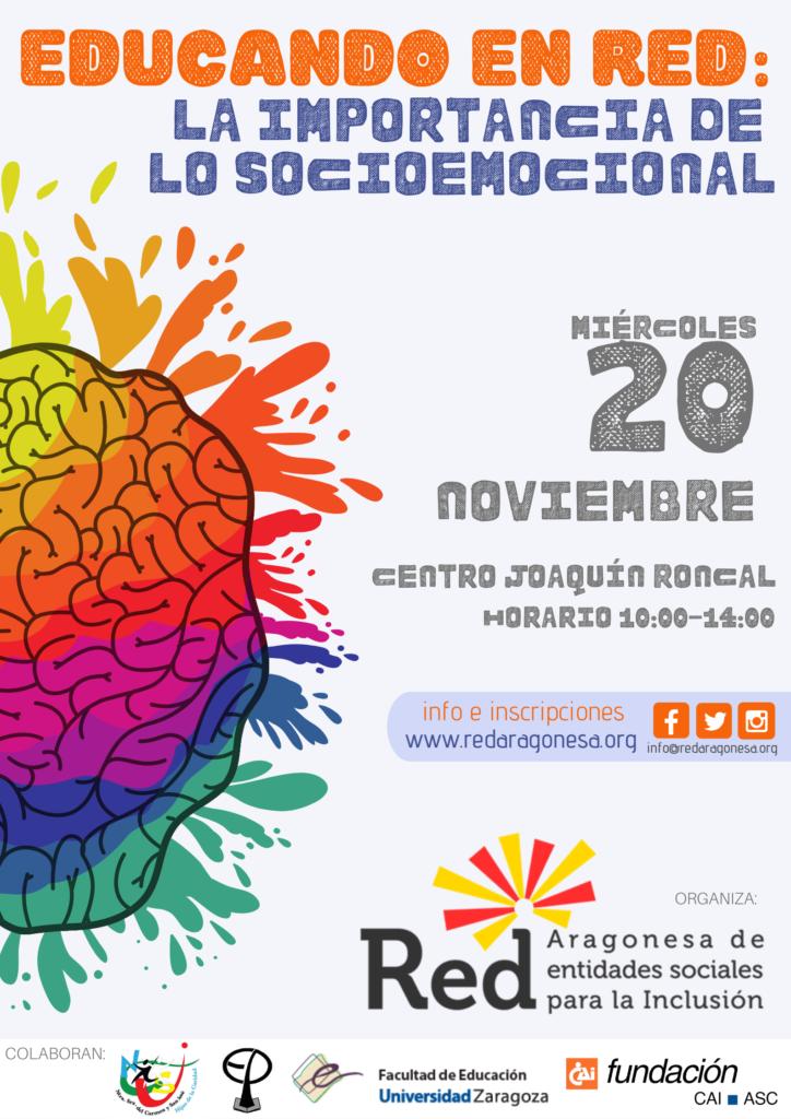 """Jornada """"Educando en RED: la importancia de lo socioemocional"""" @ Centro Joaquín Roncal [Zaragoza]"""
