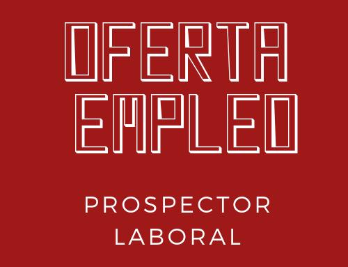 Oferta de empleo: prospector laboral en Kairós