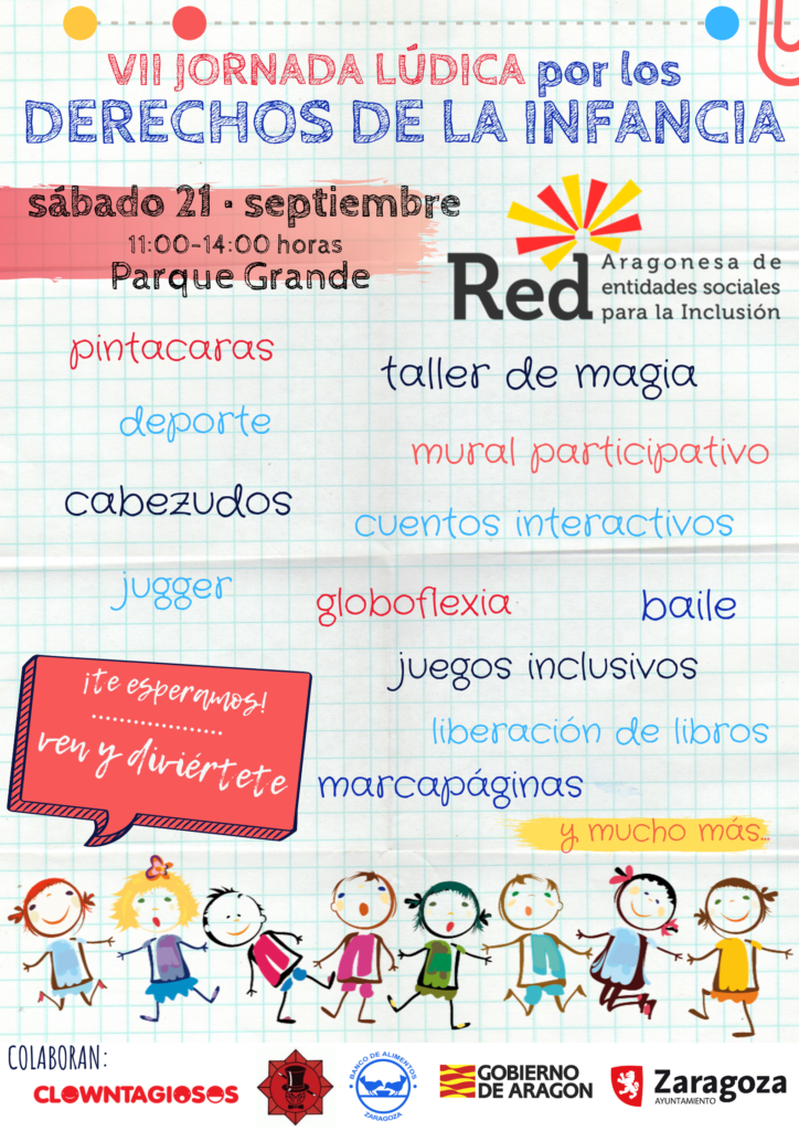 Jornada lúdica por los Derechos de la Infancia @ Parque Grande