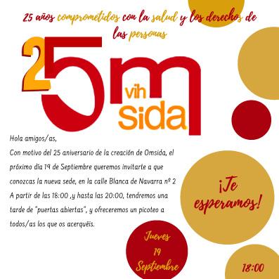 25 aniversario OMSIDA + inauguración nueva sede