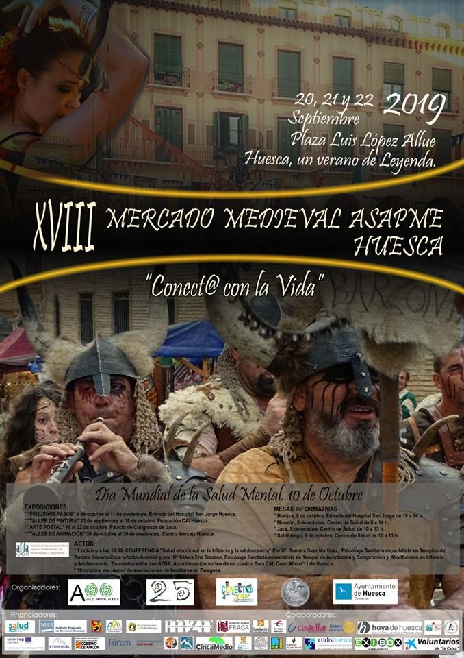 XVIII Mercado medieval de Asapme @ Plaza Luis López Allue [Huesca]