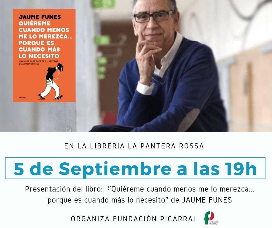 Presentación libro-guía para familias y profesorado de adolescentes @ Libreria La Pantera Rossa