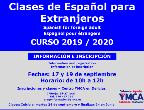 Clases de español curso 2019-2020 en Zaragoza