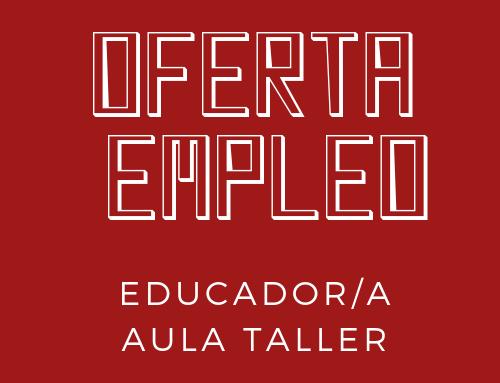 Fundación Adunare busca educador/a para aula taller