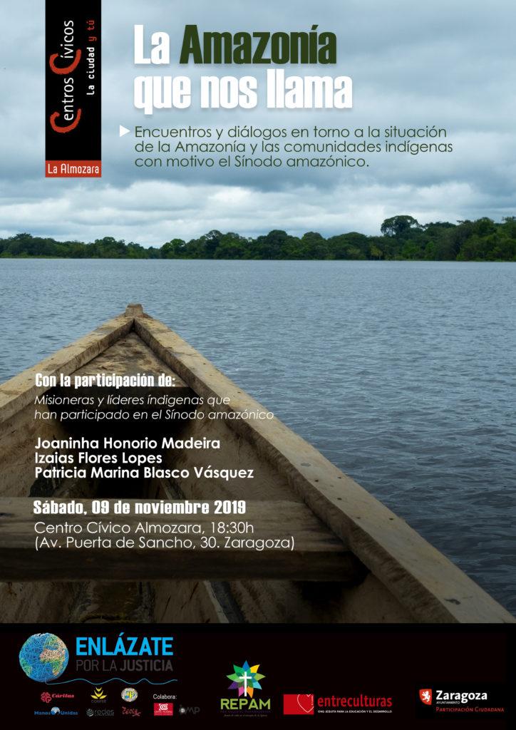 Encuentro-diálogo en torno a la situación de la Amazonía y las comunidades indígenas @ Centro Cívico Almozara