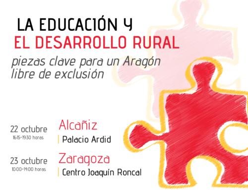 Inscripciones VII Jornadas «El Aragón que queremos»
