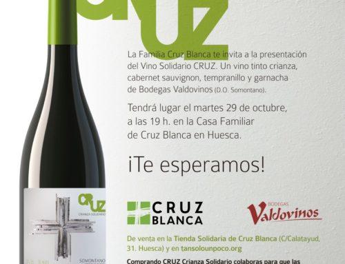 Fundación Cruz Blanca presenta su vino solidario CRUZ