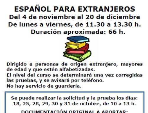 Curso de español para extranjeros · Sociedad San Vicente de Paul