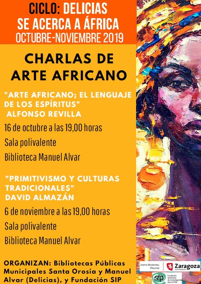 """Charla """"Primitivismo y culturas tradicionales"""" @ Biblioteca Manuel Alvar"""