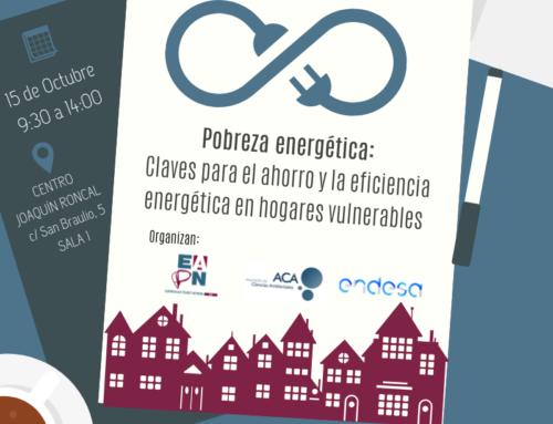 Inscripciones jornada-taller Pobreza energética
