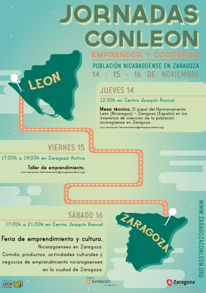 Jornadas con León (Nicaragua) · Feria de emprendimiento y Cultura