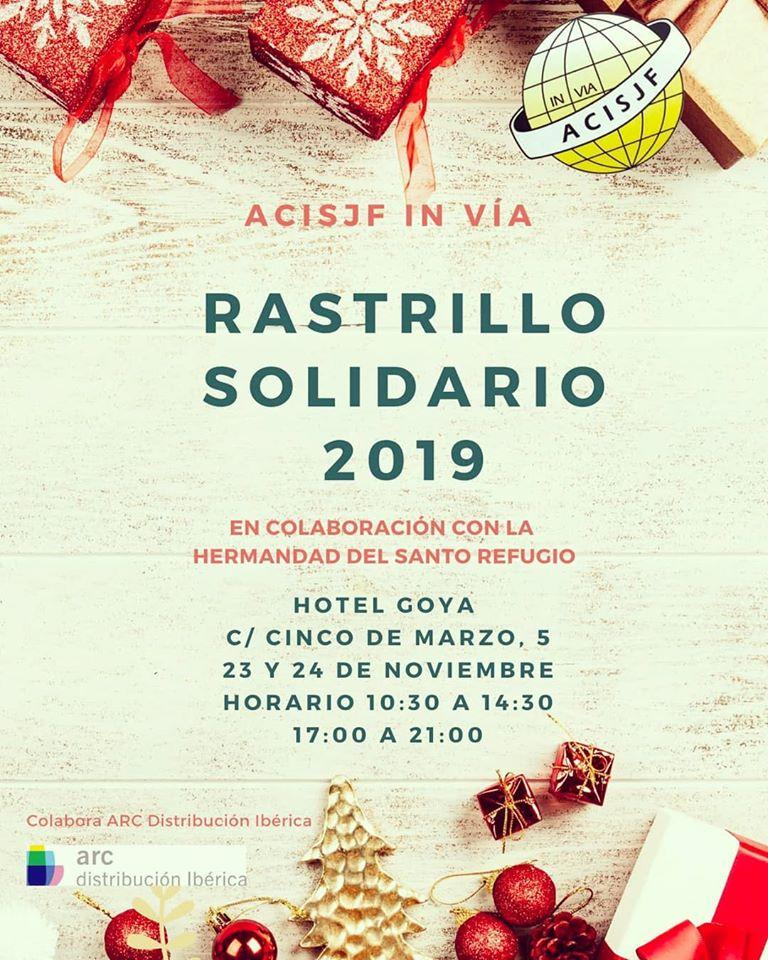 Rastrillo Solidario Acisjf in Via @ Hotel Goya
