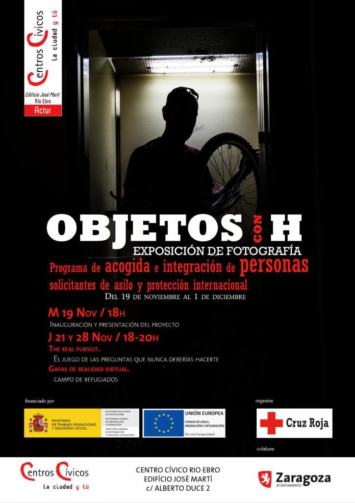 Exposición fotografía Cruz Roja @ Centro Cívico Río Ebro · Edificio Jose Martí ACTUR