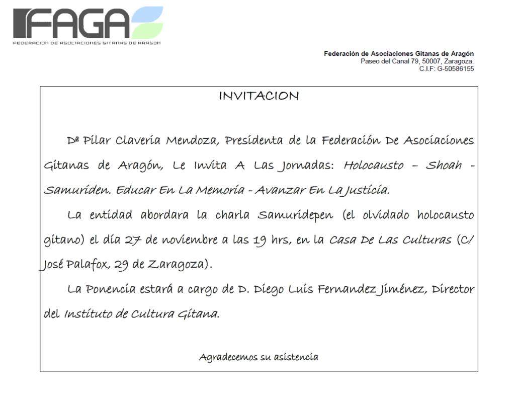 Jornada FAGA @ Casa de las Culturas