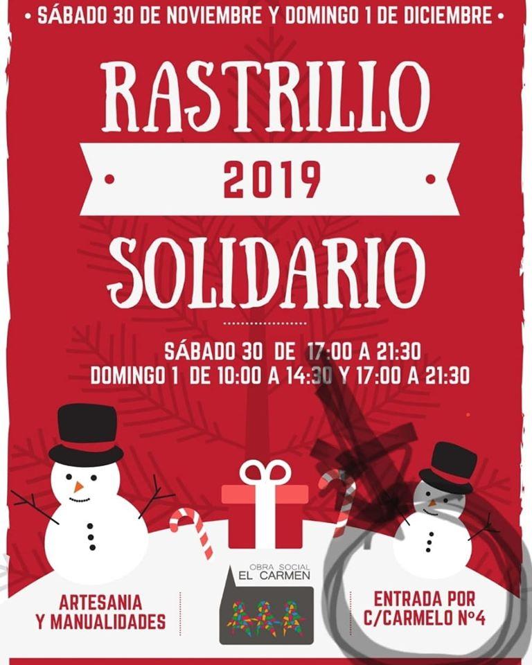 Rastrillo Solidario Obra Social El Carmen