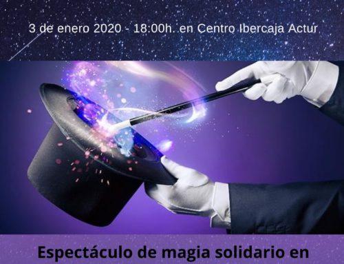 Entradas a la venta para el espectáculo de magia solidario AMASOL