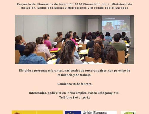 ACISJF organiza curso «Empleo en el hogar y cuidados»