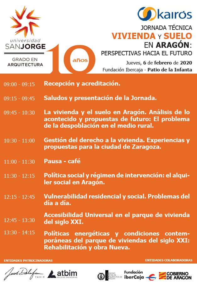 """Jornada técnica """"Vivienda y suelo en Aragón: perspectivas hacía el futuro"""" @ Patio de la Infanta [Zaragoza]"""