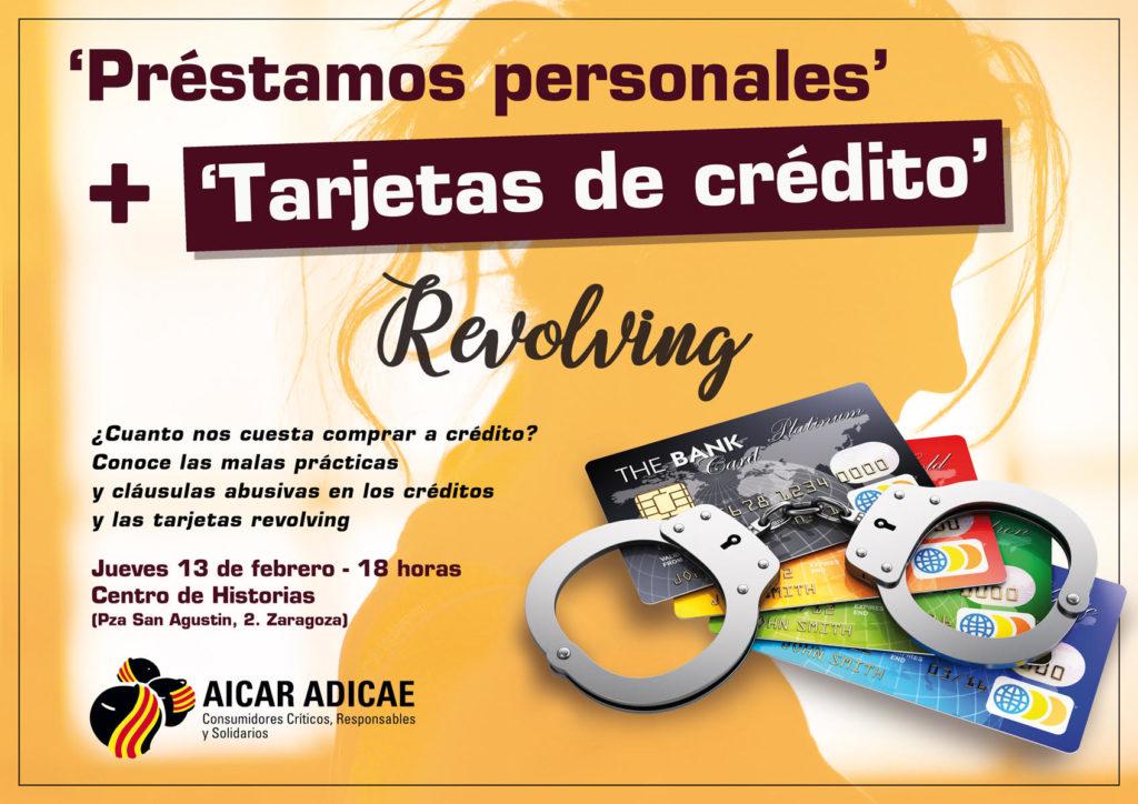 """Charla: """"Préstamos personales y tarjetas de crédito revolving"""" @ Centro de Historias"""