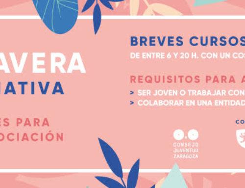 Nueva oferta formativa de Consejo Juventud de Zaragoza